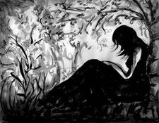 wbAlone-in-grief-art